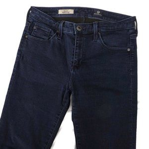 AG Jeans The Stacy Mid-Rise Dark Straight 27R